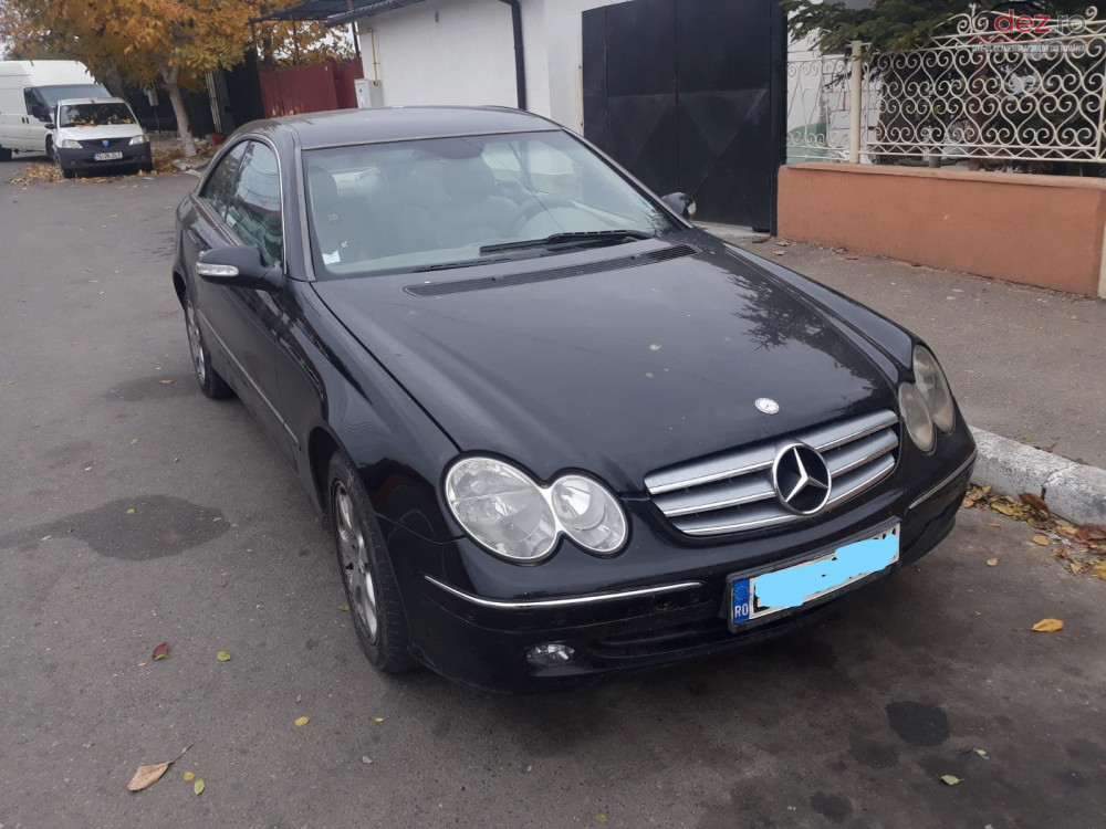 Dezmembrez Mercedes Clk Coupe C209 Diesel 2 7 Cdi Automat An 2004 Dezmembrări auto în Constanta, Constanta Dezmembrari