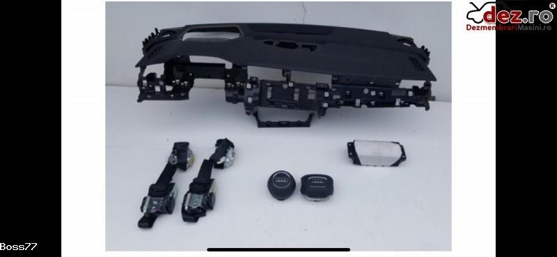 Vand Kit Complet Plansa Bord airbaguri centuri Pentru Audi Q8 2018 Dezmembrări auto în Zalau, Salaj Dezmembrari