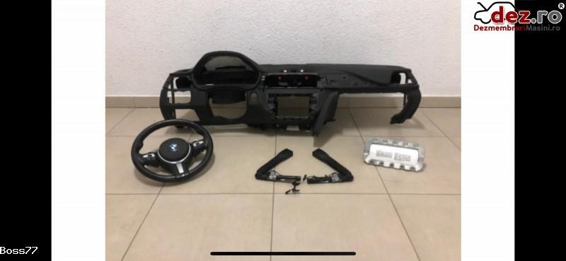 Vand Kit Complet Plansa Bord+airbaguri+centuri Pentru Bmw Seria 4 F32 F33 F36 2015 Dezmembrări auto în Zalau, Salaj Dezmembrari