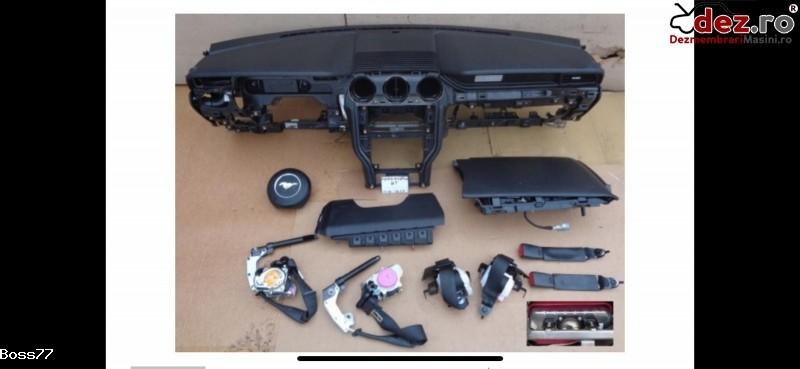 Vand Kit Complet Plansa Bord Cu Airbaguri Si Centuri Pentru Ford Mustang 2016 Dezmembrări auto în Zalau, Salaj Dezmembrari