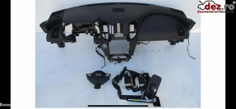 Vand Kit Complet Plansa Bord Cu Airbaguri Si Centuri Pentru Infiniti Fx35 2014 Dezmembrări auto în Zalau, Salaj Dezmembrari