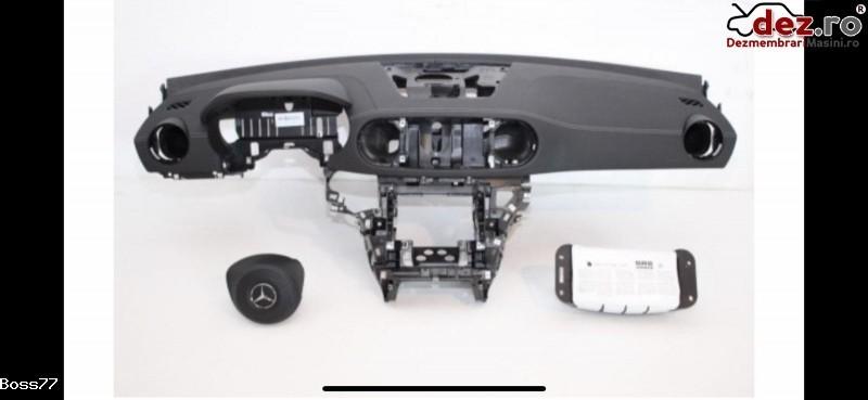 Vand Kit Complet Plansa Bord Cu Aribaguri Si Centuri Pentru Mercedes Sl Klass W231 Dezmembrări auto în Zalau, Salaj Dezmembrari