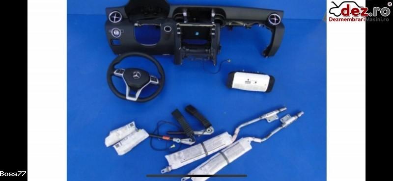 Vand Kit Complet Plansa Bord Cu Aribaguri Si Centuri Pentru Mercedes Slk Klass Dezmembrări auto în Zalau, Salaj Dezmembrari
