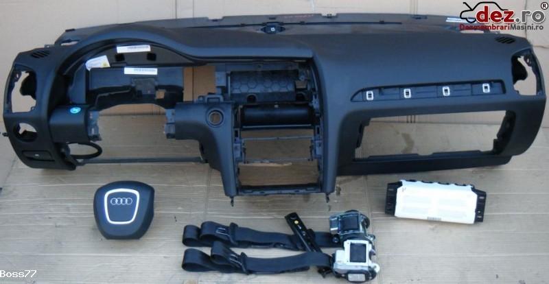 Vand Kit Complet Plansa Bord Cu Airbaguri Si Centuri Pentru Audi Q7 Lift 8r0 2010 Dezmembrări auto în Zalau, Salaj Dezmembrari