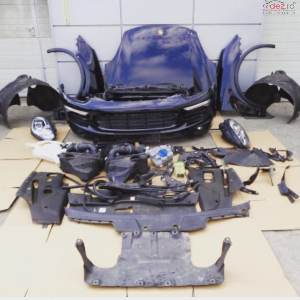 Vand Fata Completa Pentru Porsche Cayenne Lift 4 2 Diesel 2015 Dezmembrări auto în Zalau, Salaj Dezmembrari