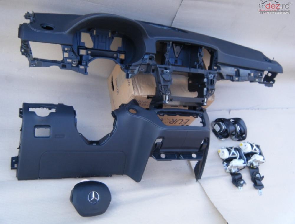Plansa Bord Piele Mercedes Ml166 Piese auto în Zalau, Salaj Dezmembrari