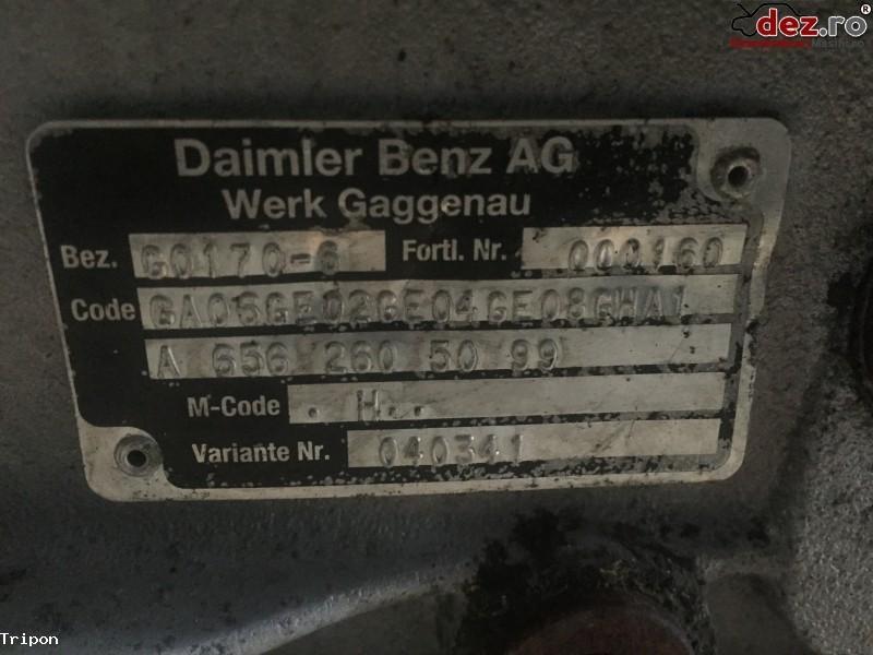 Cutie de viteze GO 170 - 6 pentru autobuz Mercedes Intouro/Citao Dezmembrări camioane în Zalau, Salaj Dezmembrari