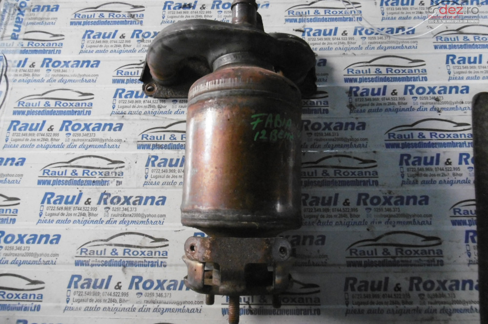 Catalizator Skoda Fabia 1 2b  cod 03d131701d Piese auto în Alesd, Bihor Dezmembrari
