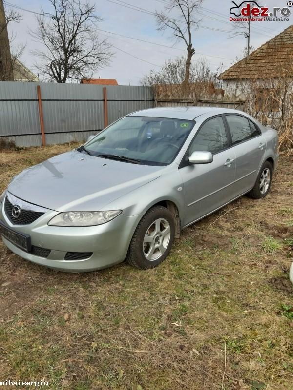 Vand Mazda 6 3 D 120 Cp An 2004 Mașini avariate în Arad, Arad Dezmembrari