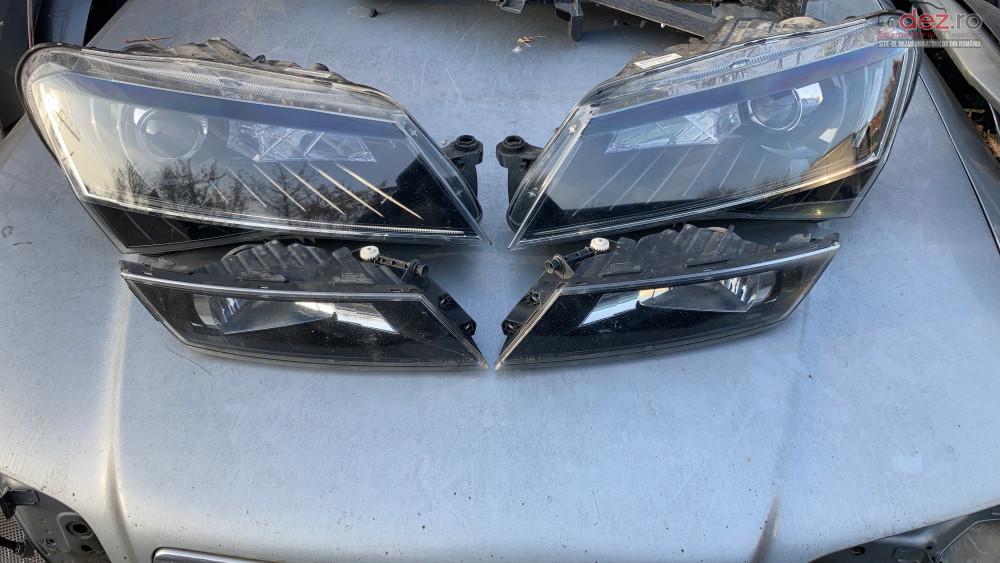 Far Faruri Xenon Skoda Superb 3 Iii Bi Xenon Led Piese auto în Bucuresti, Bucuresti Dezmembrari