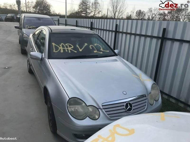 Dezmembrez Mercedes C Class Coupe An Fabricatie 2007 Dezmembrări auto în Somcuta Mare, Maramures Dezmembrari
