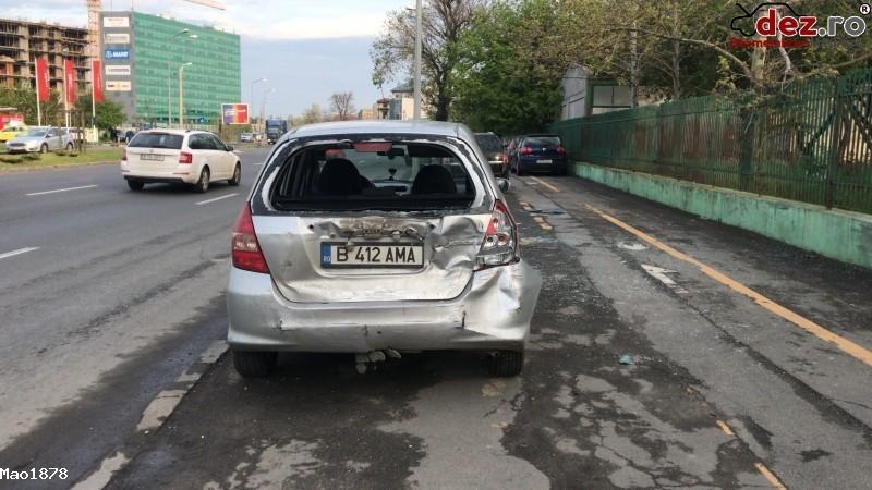 Vand Honda Jazz 1 4 Idsi Benzina+gpl Cutie Automata Cvt Mașini avariate în Bucuresti, Bucuresti Dezmembrari