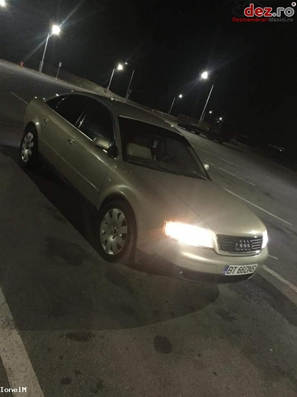 Vand Audi A6   An Fabricatie 2000  Mașini avariate în Suceava, Suceava Dezmembrari
