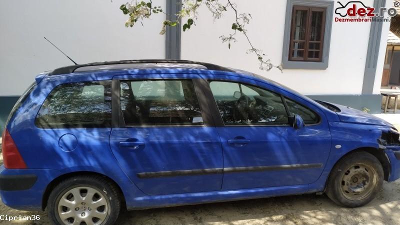 Vand Peugeot 307 din 2004, avariat in fata Mașini avariate în Dabuleni, Dolj Dezmembrari