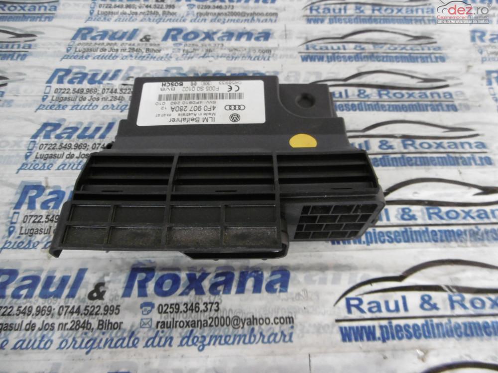 Calculator Confort Audi A6 2 0tdi  cod 4f0907280a Piese auto în Alesd, Bihor Dezmembrari