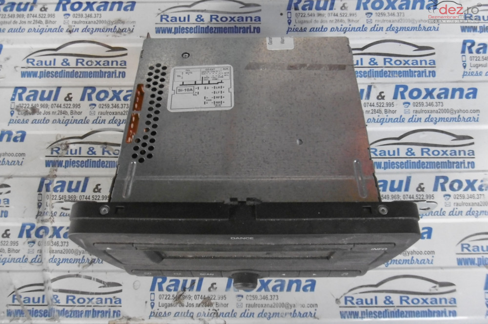 Cd Audio Skoda Fabia 2 1 2b Bzg  cod 5j0035161a Piese auto în Alesd, Bihor Dezmembrari