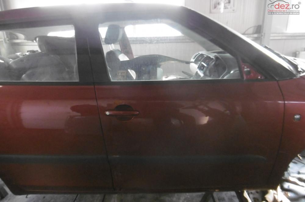 Geam Usa Fata Skoda Fabia 2 1 2b Bzg  Piese auto în Alesd, Bihor Dezmembrari