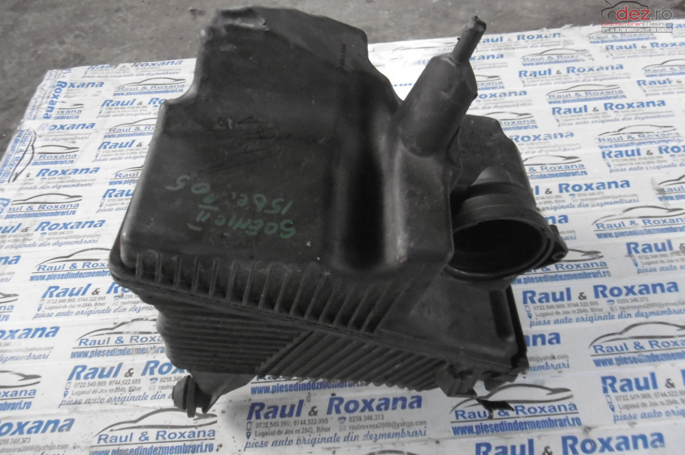 Carcasa Filtru Aer Renault Scenic 2 1 5dci  cod 8200176559 Piese auto în Alesd, Bihor Dezmembrari