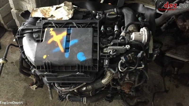 Motor fara subansamble Citroen DS3 2012 cod 8H01 8HR DV4C în Falticeni, Suceava Dezmembrari