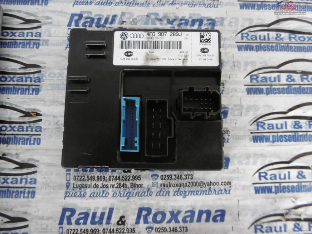 Calculator Confort Audi A6 2 0tdi  cod 4f0907289j Piese auto în Lugasu de Jos, Bihor Dezmembrari