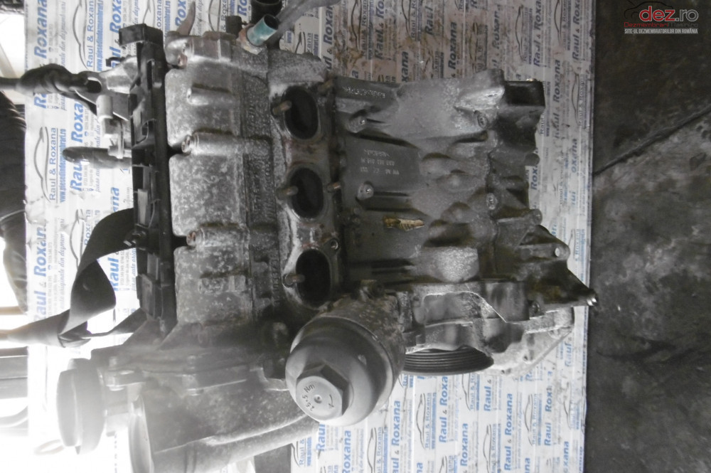 Motor Skoda Fabia 2 1 2b Bzg  cod bzg Piese auto în Lugasu de Jos, Bihor Dezmembrari