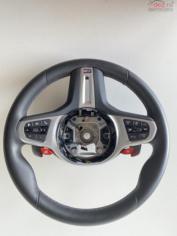 Volan M Sport Bmw M 8 F91/f92 M5 F90 Piele Vibratii Lane Assist Piese auto în Bucuresti, Bucuresti Dezmembrari