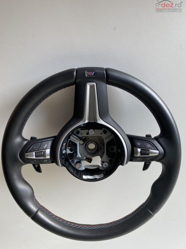 Volan M Sport Bmw X5 M F85/x6 M F86 Piele/pilot Automat/vibratii Piese auto în Bucuresti, Bucuresti Dezmembrari