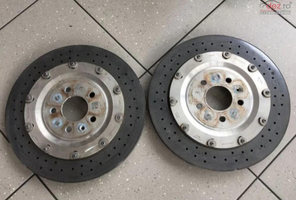 Discuri Ceramice Frana Spate Audi S8 D4 2012r  Piese auto în Zalau, Salaj Dezmembrari