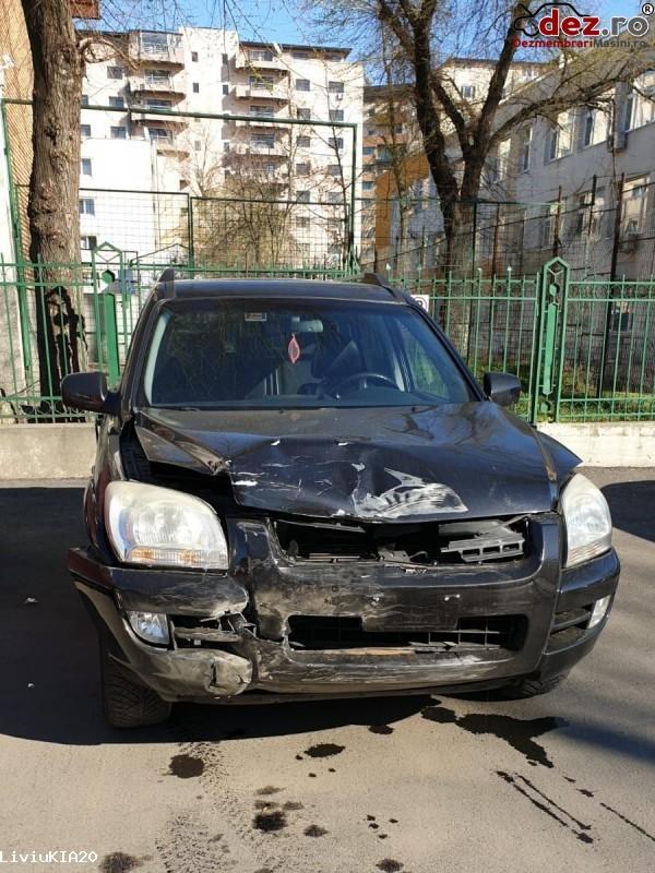 Vand Kia Sportage 4x4 | Avariat Frontal  Mașini avariate în Bucuresti, Bucuresti Dezmembrari