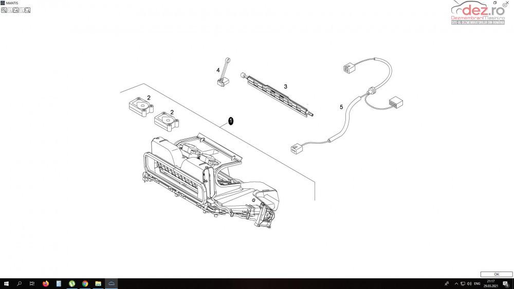 Motoras Modul Dirijare Clapete Aer Bord Man Tgx Tgs