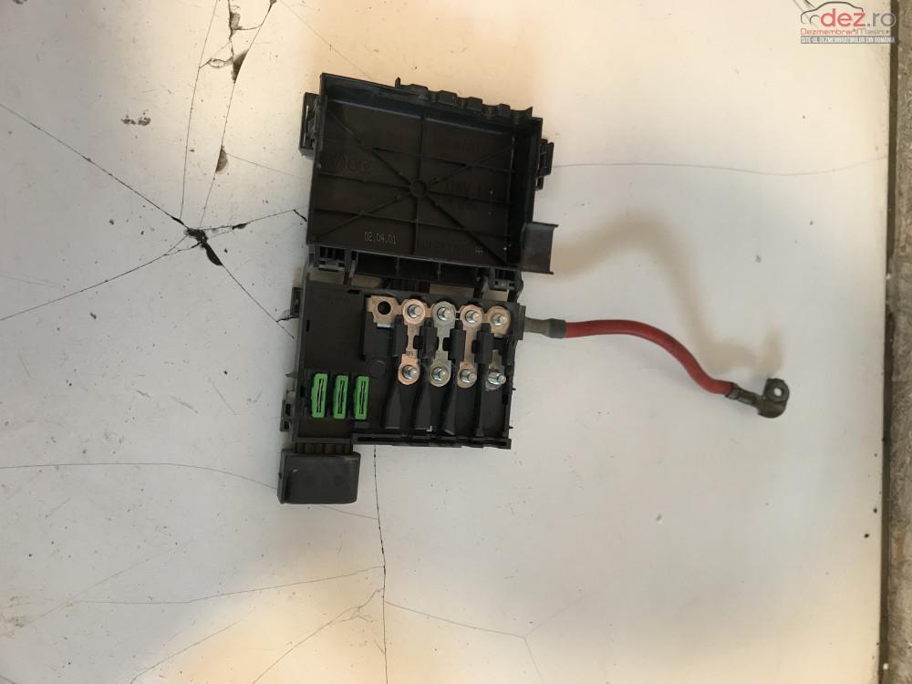Tablou Sigurante Borne Baterie Volkswagen Golf 4 1 6 16v 1999 2004 cod 1j0937550