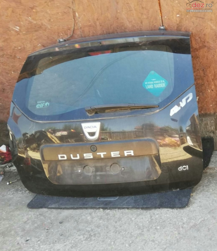 Hayon Dacia Duster An 2014  Piese auto în Bucuresti Sector 4, Ilfov Dezmembrari