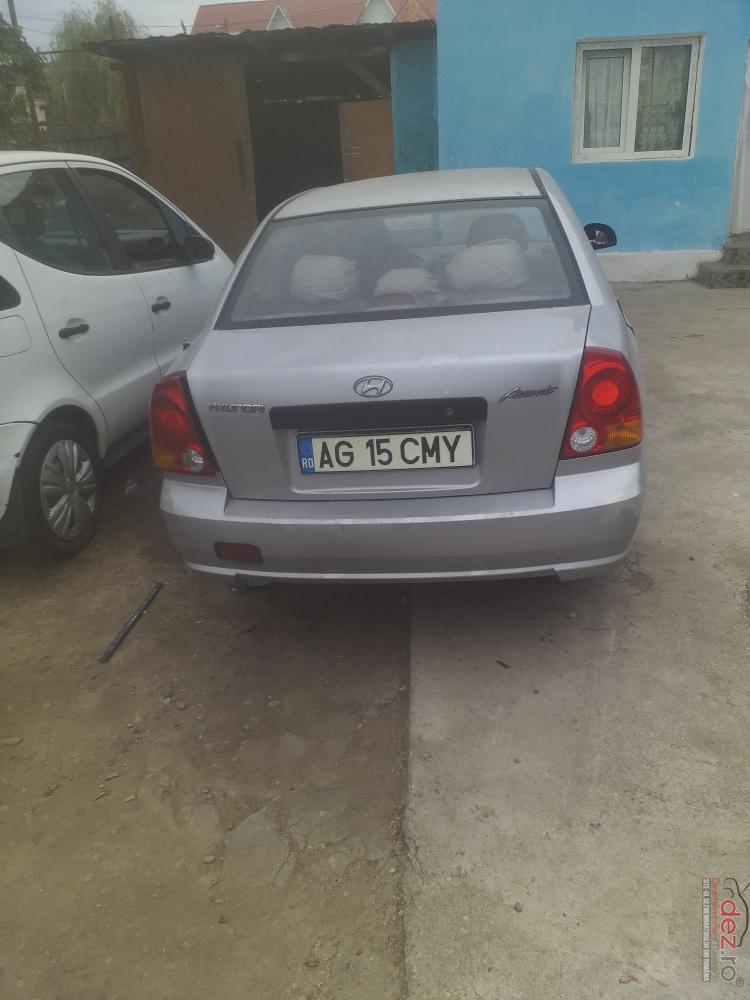 Dezmembrez Orice Piesa Hyundai Accent Benzina 1 3 An 2002 2007 în Costesti, Arges Dezmembrari
