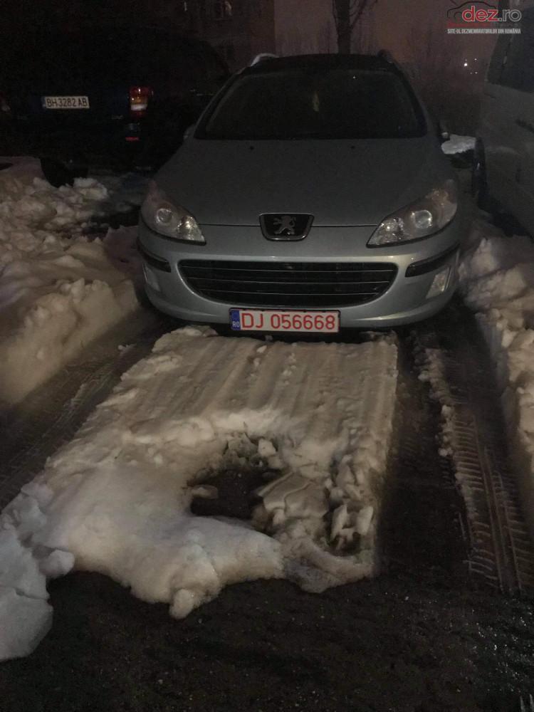 Cumpar Peugeot 407 sw din 2007, avariat in spate, lateral(e), totalitate Mașini avariate în Calafat, Dolj Dezmembrari