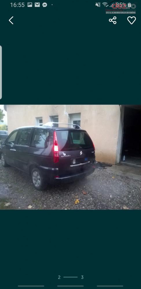 Dezmembrez Citroen C8 Dezmembrări auto în Sighetu Marmatiei, Maramures Dezmembrari