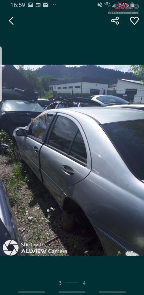 Dezmebrez Mercedes C Class Dezmembrări auto în Sighetu Marmatiei, Maramures Dezmembrari