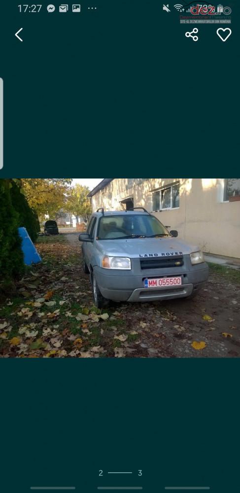 Dezmembrez Freelander Dezmembrări auto în Sighetu Marmatiei, Maramures Dezmembrari
