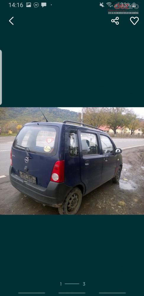 Dezmembrez Opel Agila Dezmembrări auto în Sighetu Marmatiei, Maramures Dezmembrari