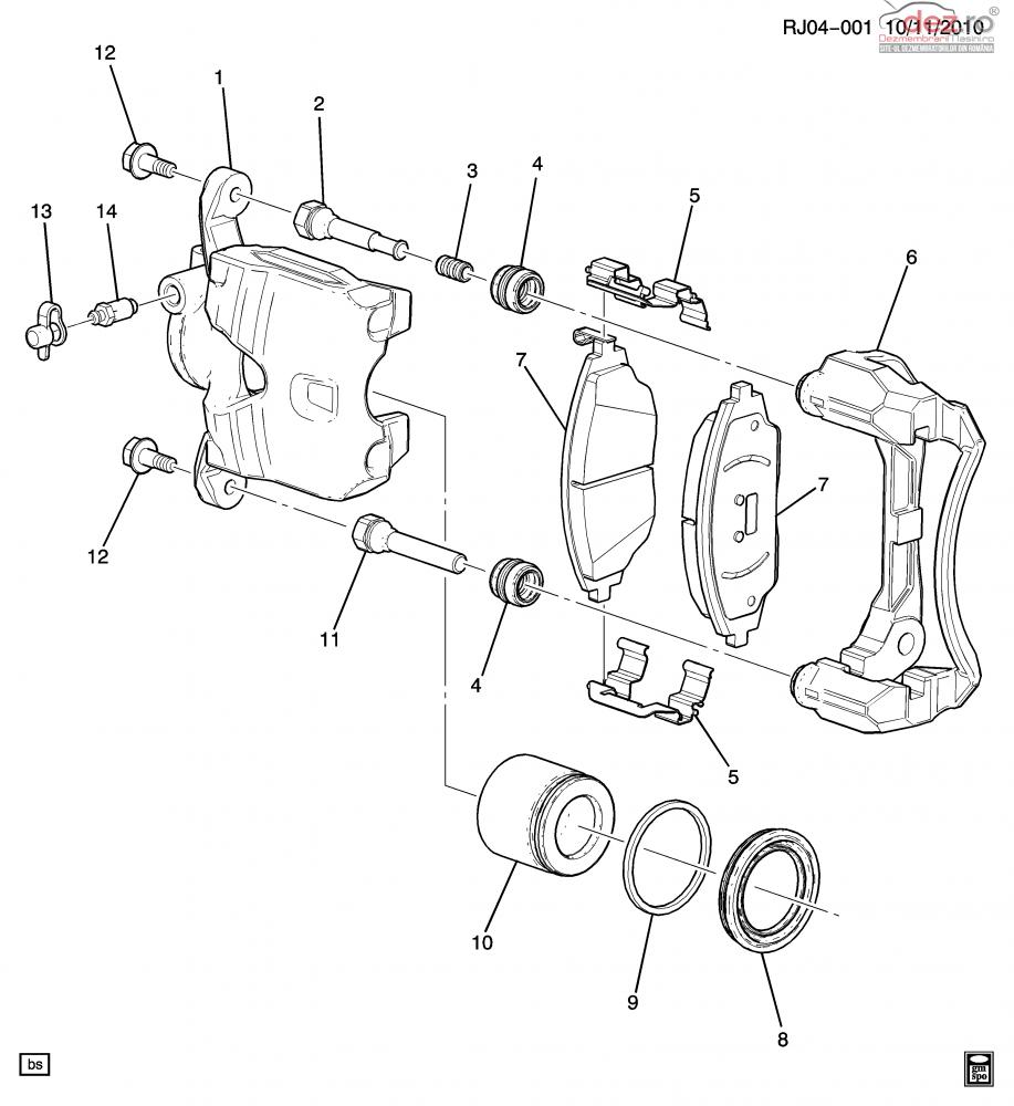 Cumpar Suport Etrier Stg +dr Pentru Chevrolet Aveo Din 2012 Dezmembrări auto în , Dezmembrari