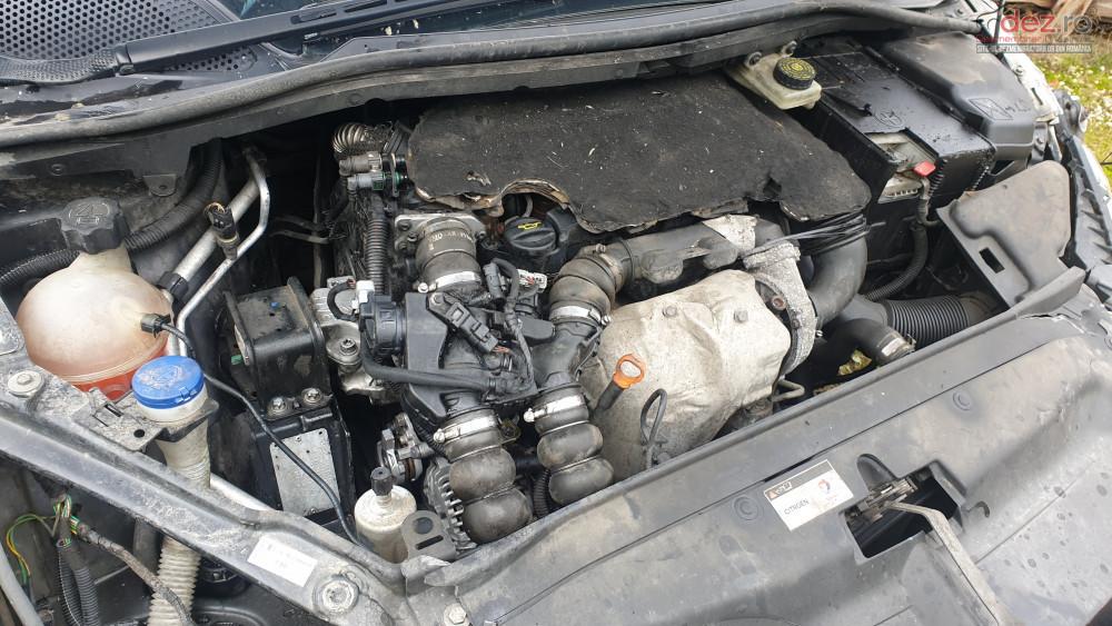 Vand Citroen C4 1.6 HDI din 2007, avariat in fata, spate, lateral(e)