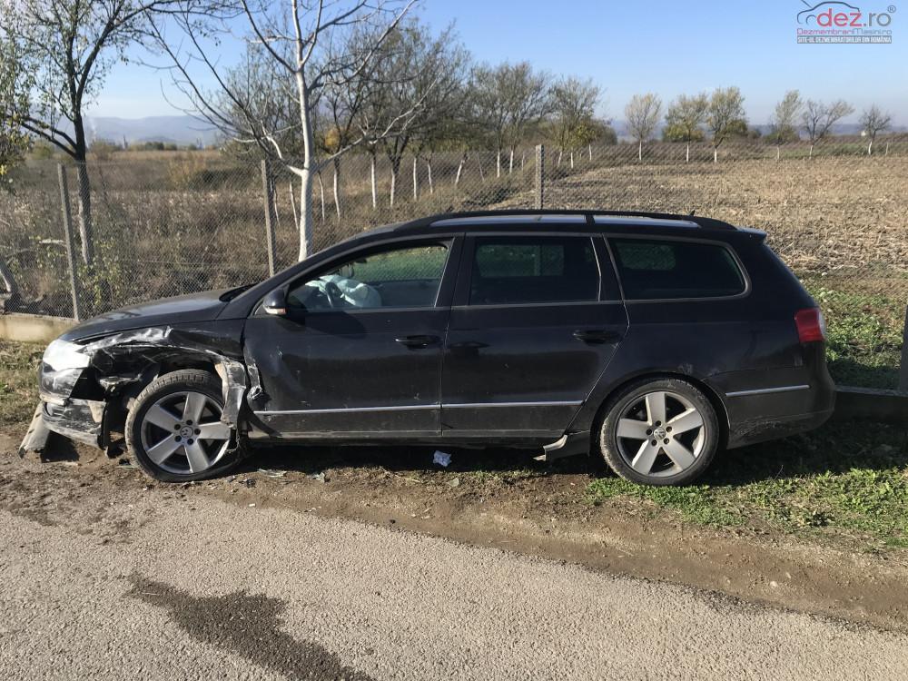 Vand Volkswagen Passat B6 din 2006, avariat in totalitate Mașini avariate în Beius, Bihor Dezmembrari