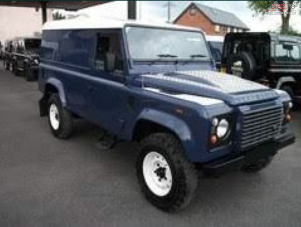 Dezmembrez Land Rover Defender Puma 2 4 Cdi Motor Turbina Injectoare Dezmembrări auto în Constanta, Constanta Dezmembrari