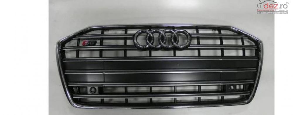 Grila Fata Audi S 6 / A 6 C8 4k 2018 Piese auto în Zalau, Salaj Dezmembrari