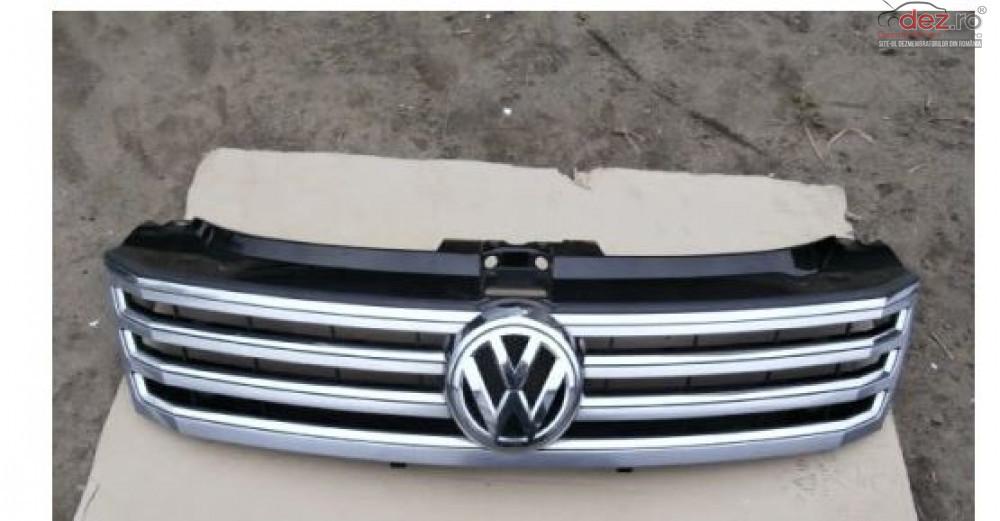 Grila Fata Volkswagen Phaeton 2010 2016 Piese auto în Zalau, Salaj Dezmembrari