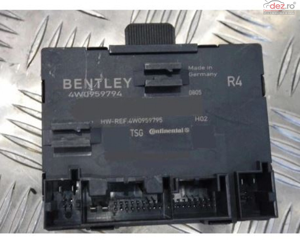 Calculator Control Usa Bentley 4w0959794 2006+ Piese auto în Zalau, Salaj Dezmembrari