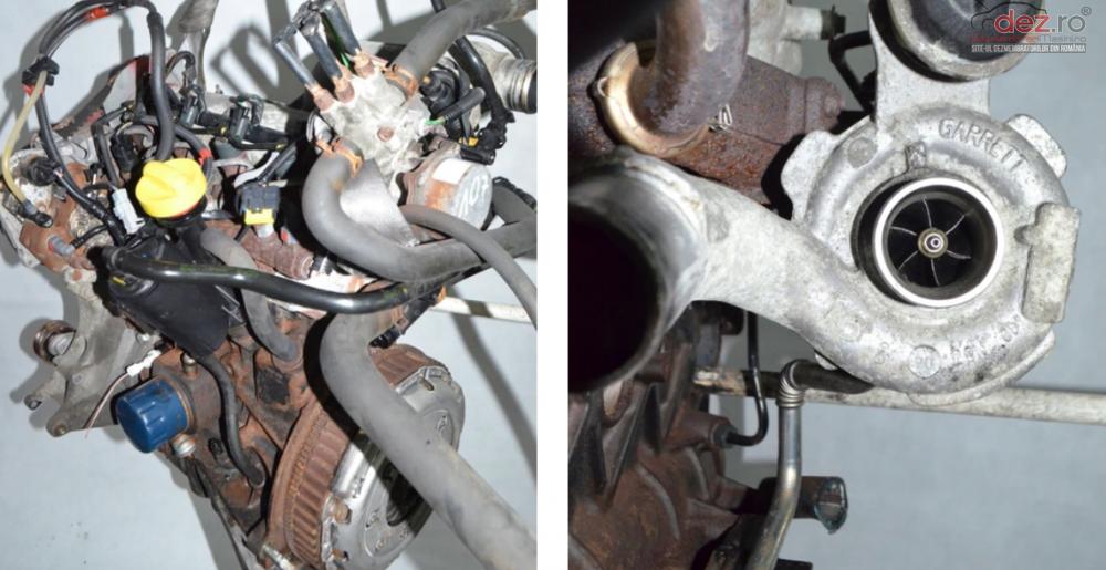 Motor Renault Trafic Vivaro 1 9 Dci F9k Complet cod F9K F9QU762 F9Q U762 F9Q764 F9Q760 F9Q754 Piese auto în Zalau, Salaj Dezmembrari
