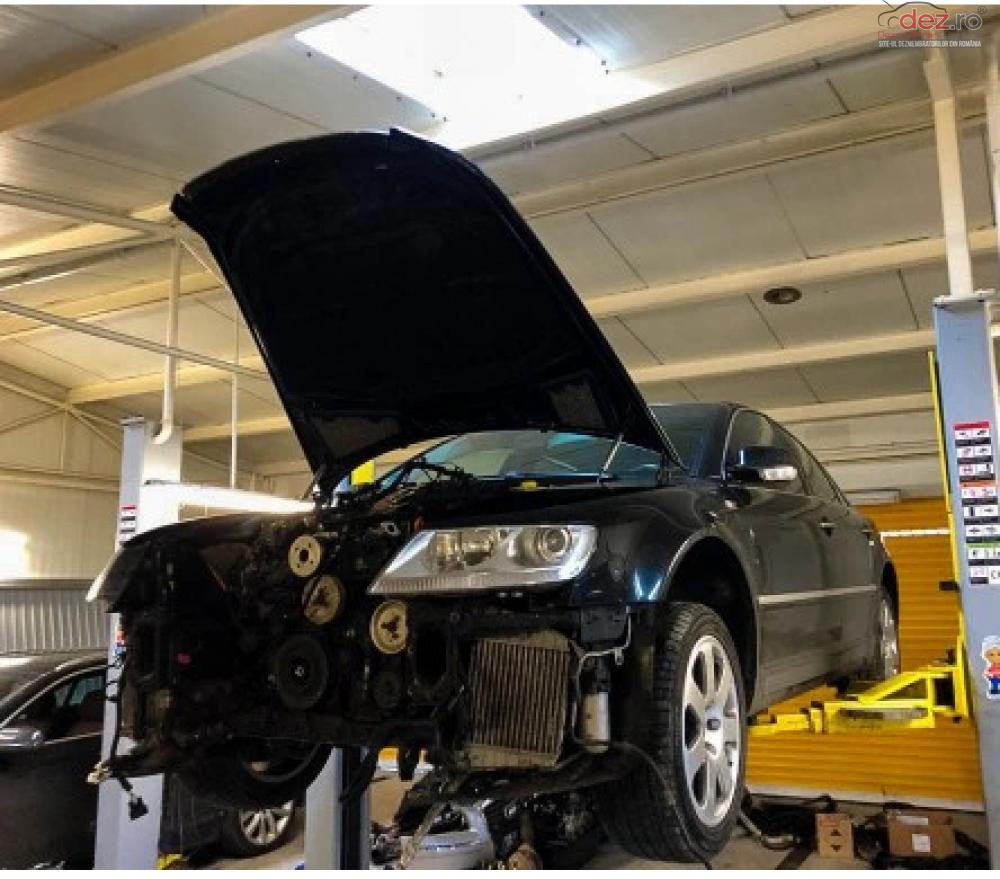 Motor Vw Phaeton 6 0 W12 Ban cod BAN Piese auto în Zalau, Salaj Dezmembrari