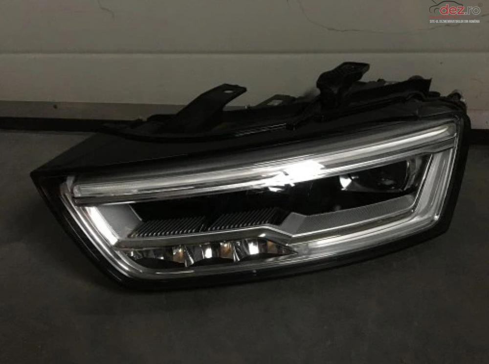 Far Stanga Audi Q3 8u0941033 Full Led Lift 2015 cod 8U0941033 Piese auto în Zalau, Salaj Dezmembrari