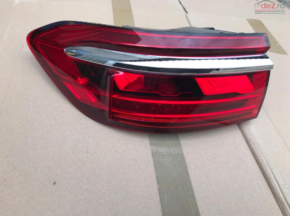 Lampa Spate Stanga Audi A8 D5 Matrix Oled 2017 Piese auto în Zalau, Salaj Dezmembrari