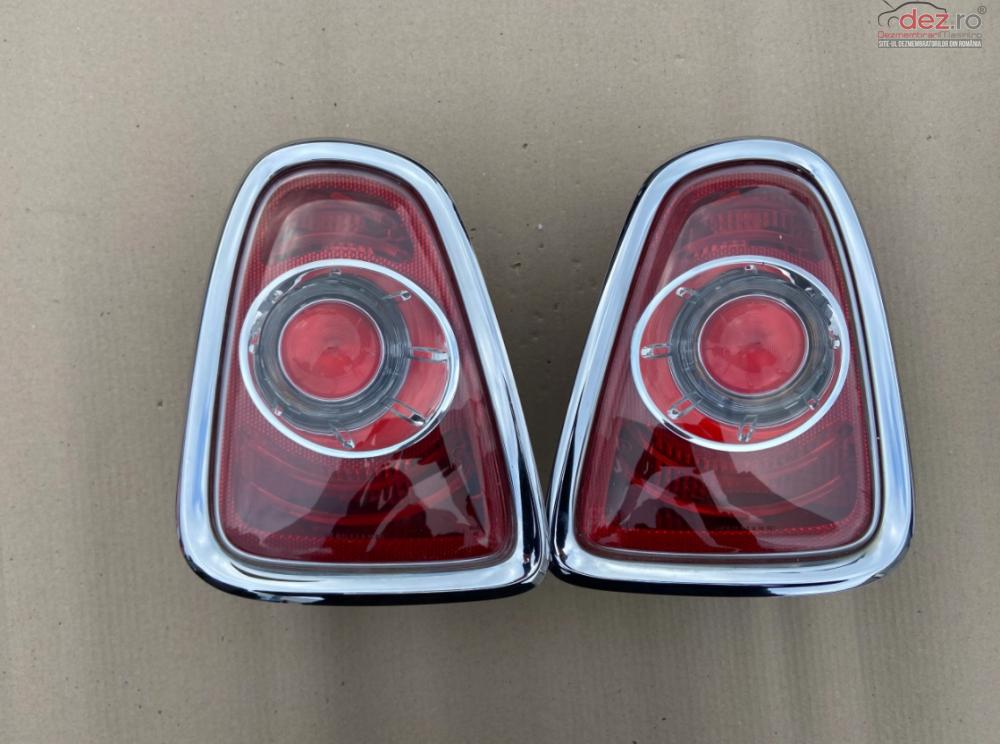 Lampi Spate Mini One Mini Cooper Ii Lift R56 R57 Chrome 2010 2013 cod 7255911 7255912 Piese auto în Zalau, Salaj Dezmembrari